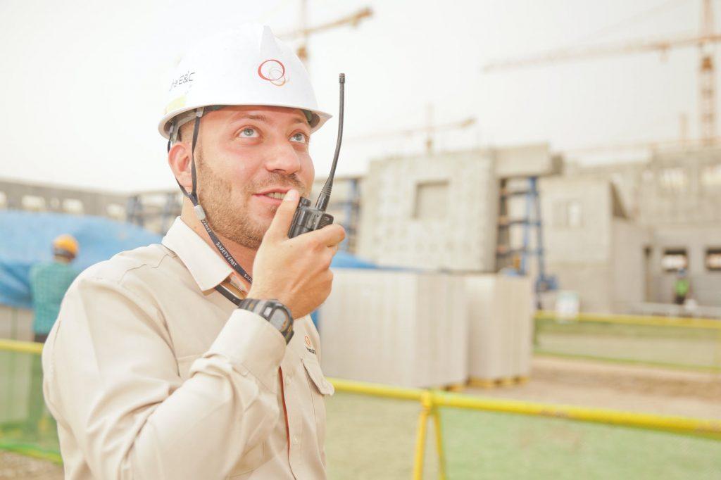 técnico em segurança do trabalho em canteiro de obras